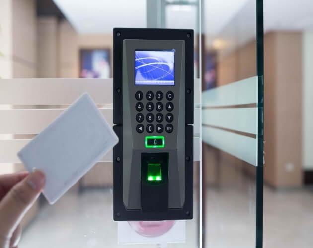 Control acceso con tarjeta