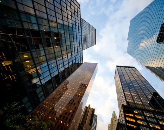 edificios modernos automatizados